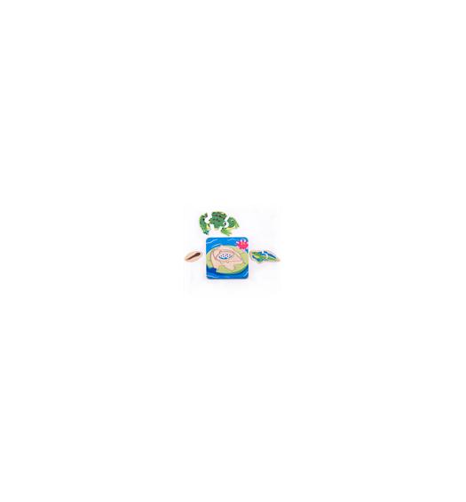 Bigjigs Lifecycle Layer Puzzle Frog - Bigjigs - 33031