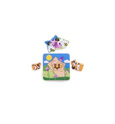 Bigjigs Lifecycle Layer Puzzle - Honeybee - Bigjigs -