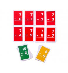 Bigjigs Flashcards - Subtractions 1-10 -