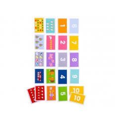 Bigjigs Playing Cards - Snap 1-10 -