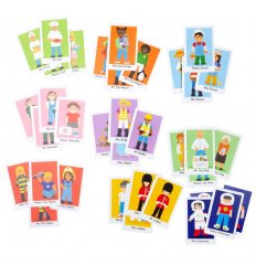 Bigjigs Happy Families - Card Game -