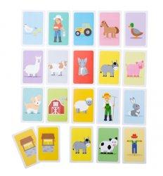 Bigjigs Farmyard Donkey Card Game - Bigjigs -