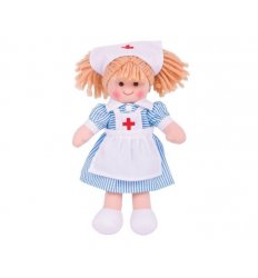 Bigjigs Nurse Nancy Ragdoll - Bigjigs -