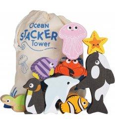 Le Toy Van Ocean Stacker With Bag - Le Toy Van -