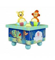Orange Tree Toys Jungle Animal Music Box - Orange Tree Toys -