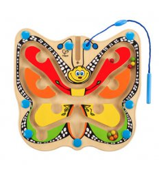 HAPE Colour Flutter Butterfly Magnetic Maze -