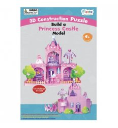 Fiesta Crafts Build a Princess Castle Model  - Fiesta Crafts -