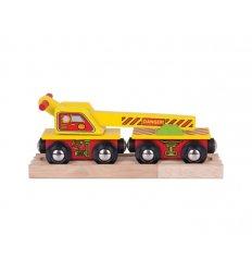 Bigjigs Crane Wagon Bigjigs -