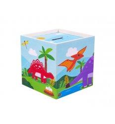 Bigjigs Wooden Dinosaur Moneybox - Tidlo -