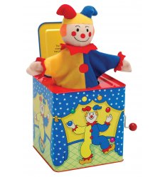 Schylling Jester jack in a Box -