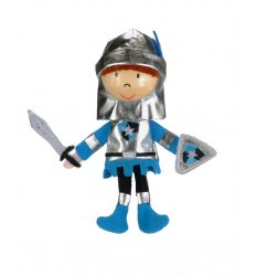 Fiesta Crafts Finger Puppet - Blue Knight - G-1002