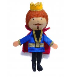 Fiesta Crafts Finger Puppet - King - G-1019