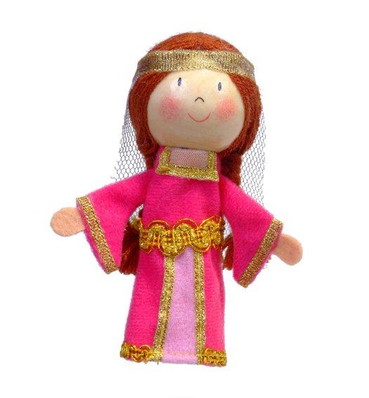 Fiesta Crafts Finger Puppet - Maid Marion - G-1023