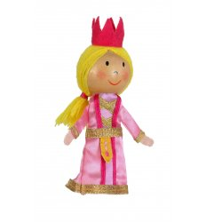 Fiesta Crafts Finger Puppet - Princess -