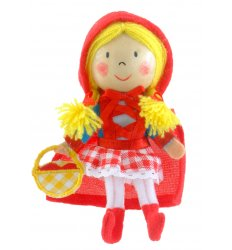 Fiesta Crafts Finger Puppet - Red Riding Hood - G-1031