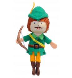 Fiesta Crafts Finger Puppet - Robin Hood -
