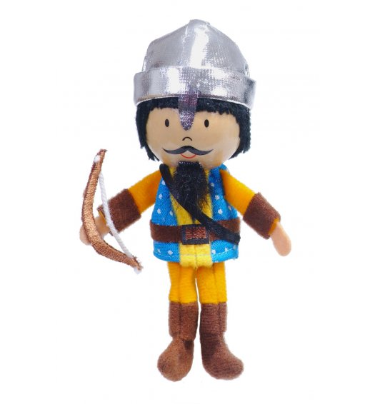 Fiesta Crafts Finger Puppet - Archer - G-1027