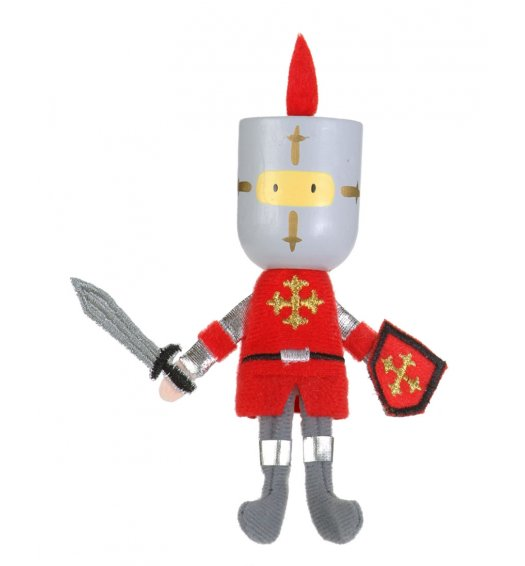 Fiesta Crafts Finger Puppet - Red Knight - G-1003
