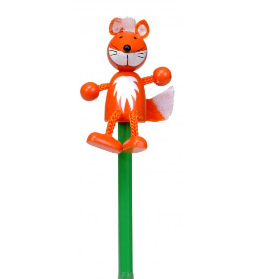 Fiesta Crafts Character Pencil - Fox - P-5085
