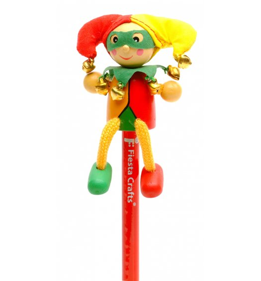 Fiesta Crafts Character Pencil - Jester - P-5009