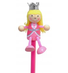 Fiesta Crafts Character Pencil - Princess -  P-5003