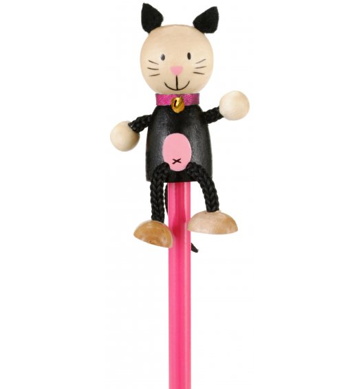 Fiesta Crafts Character Pencil - Cat - P-5155