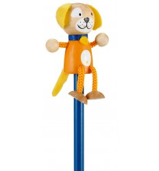 Fiesta Crafts Character Pencil - Dog -