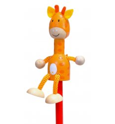 Fiesta Crafts Character Pencil - Giraffe -