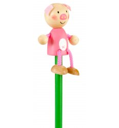 Fiesta Crafts Character Pencil - Pig -