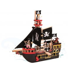Le Toy Van Barborossa pirate ship - TV246