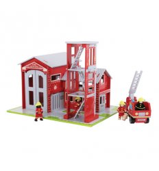 Bigjigs Fire Station Set -