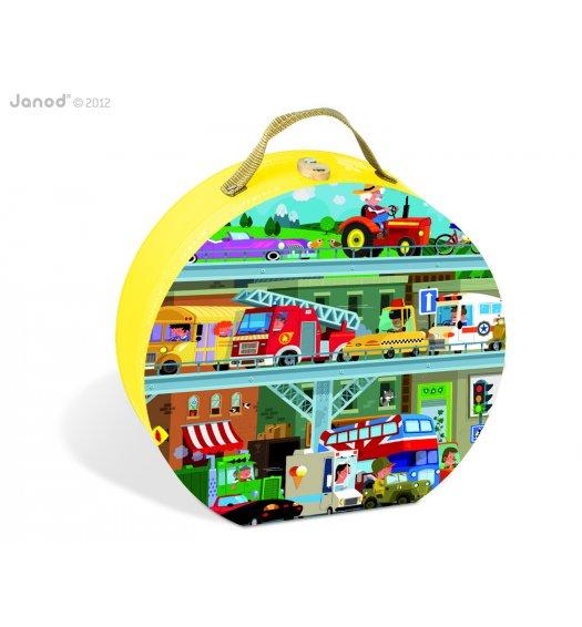 Janod Vehicles Puzzle - 02877