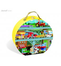 Janod Vehicles Puzzle -