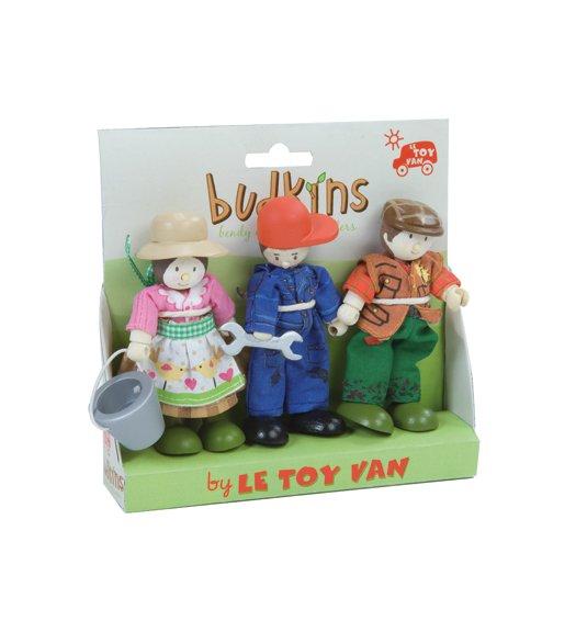 Le Toy Van Budkins Gift Pack - Farmers - BK904