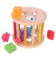 Bigjigs First Rolling Shape Sorter -