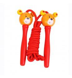 Bigjigs Skipping Rope - Bear Character -