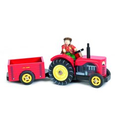 Le Toy Van Berties tractor -