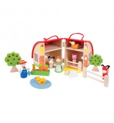 Bigjigs Mini Farm Playset - BJ684