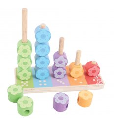 Bigjigs First Flower Stacker -