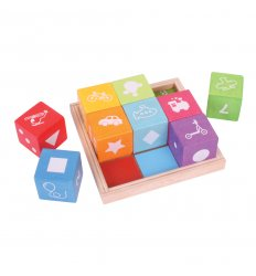 Bigjigs First Picture Blocks -