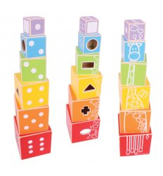 Bigjigs Stacking Cubes -