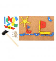 Bigjigs Pin a Shape -