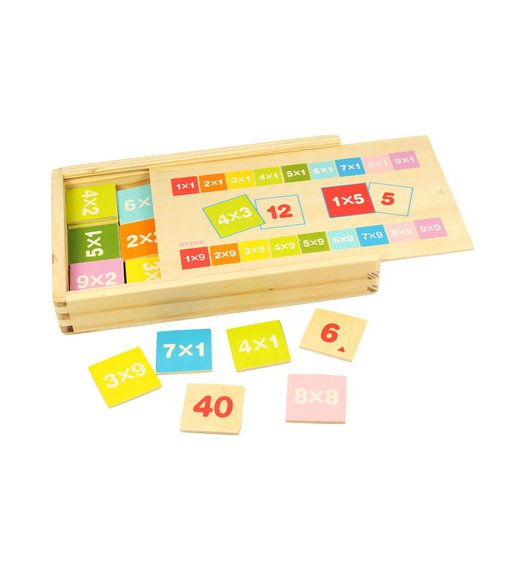 Bigjigs Times Tables Box - BJ538