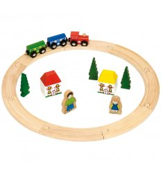 Bigjigs My first Train Set -
