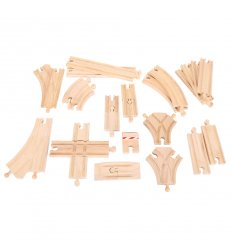 Bigjigs Low Level Track Expansion Pack -