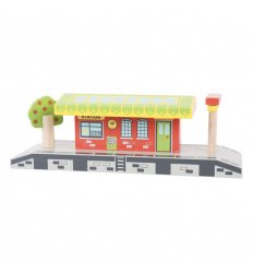 Bigjigs Village Station -