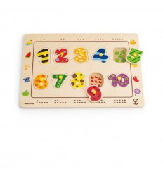 HAPE Numbers Matching Puzzle -