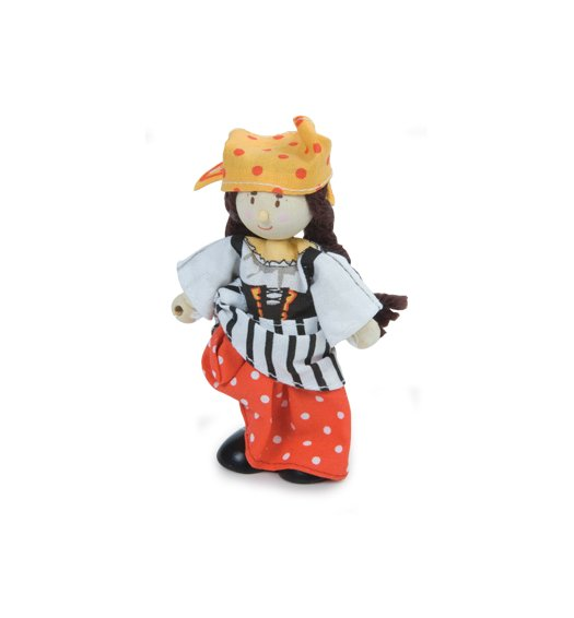 Le Toy Van Budkins - Jessica the Pirate - BK980