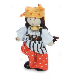 Le Toy Van Budkins - Jessica the Pirate -