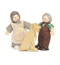 Le Toy Van Budkins - Grandparents Set - BK913